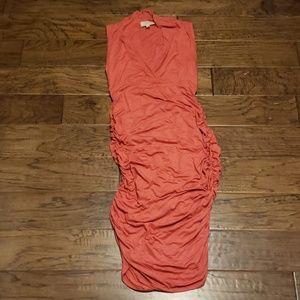 Anthropologie Marisa Ruched Column Dress - Bodycon